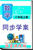 北京课改版数学八年级上册同步学案