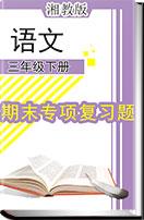 湘教版语文三年级下册(2018)期末专项复习题(含答案)