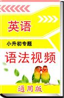 小學英語小升初專區微課系列高頻語法(視頻素材)