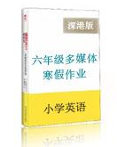 深圳朗文版小學六年級英語寒假能力訓練與提高(含答案解析+配套小游戲練習)