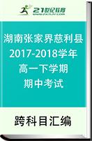 湖南省张家界市慈利县2017-2018学年高一下学期期中考试