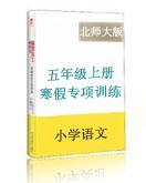 北师大版小学语文五年级上册寒假专项训练