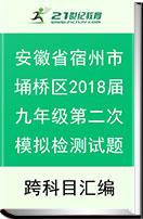 安徽省宿州市埇桥区2018届九年级第二次模拟检测试题
