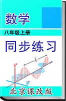初中数学 北京课改版 八年级上册 同步练习