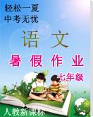 【轻松一夏,中考无忧】人教新课标语文七年级暑假作业