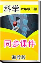 小学科学湘教版六年级下册同步课件