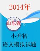 (山东卷)2014年小升初语文毕业模拟试题