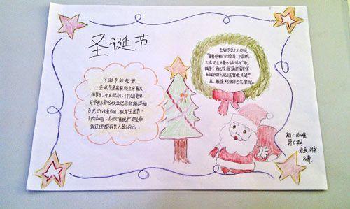 2015小学生圣诞节手抄报图片汇总