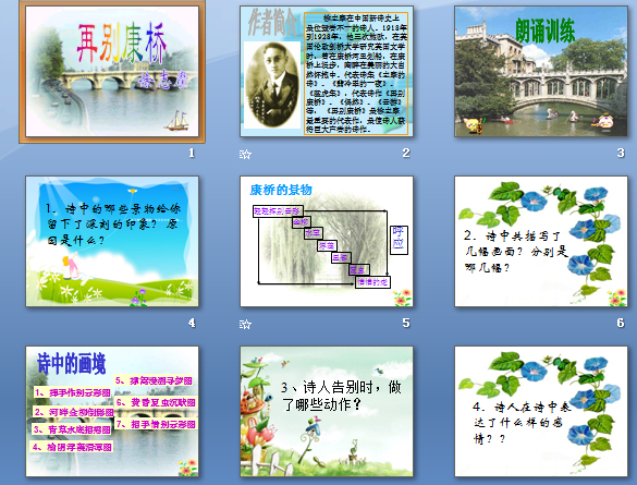 二十五现代诗二首初中 语文课件,苏教版,七初中哪个锦绣属于和庄年级图片