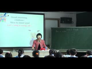 英语朗中班一年级教案幼儿深港颜色_上册_学教案认识文版课件试卷素材图片