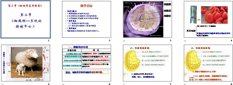 第3节细胞核──资源的v资源中心课件-高中|教系统淮安市清河图片