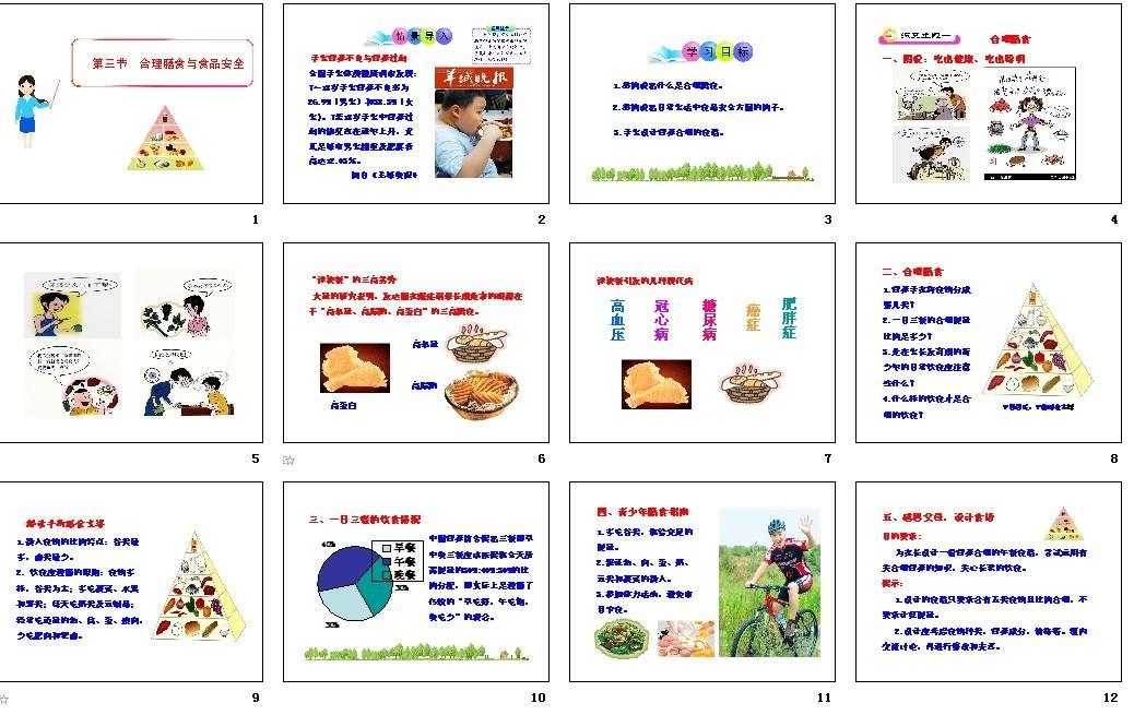济南版课件|生物短文,初中课件下载_21课件生物初中阅读图片