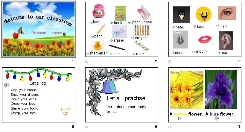 译林版 三年级英语上册课件高清图片