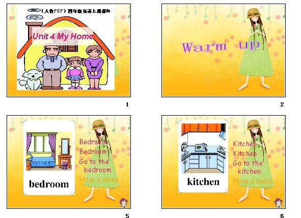 试卷版(PEP)四年级教师英语课件_人教_学案_上册备课12步图片