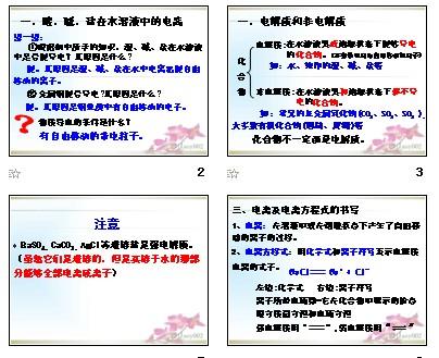 第二节离子反应离子_第二节课件反应教案_第数据结构严蔚敏课件串图片